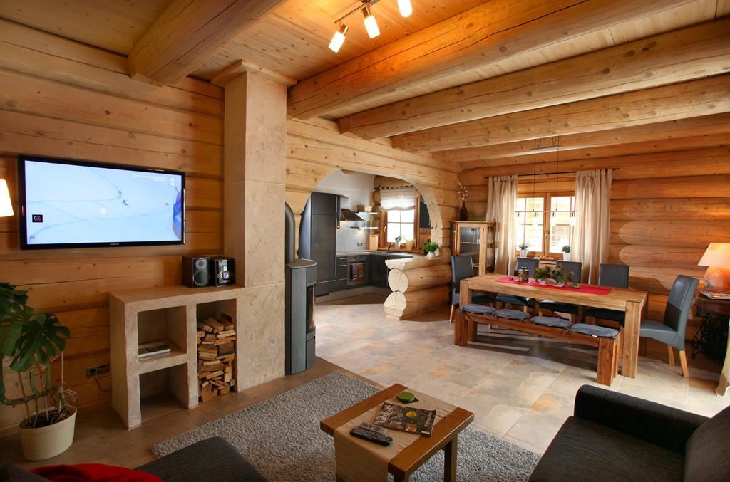blockhaus chalet heim kirchberg in tirol. Black Bedroom Furniture Sets. Home Design Ideas