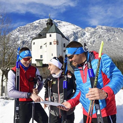 Cross country skiiing taster session in Angerberg