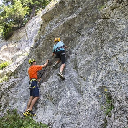 First Via Ferrata experiences at Wilder Kaiser
