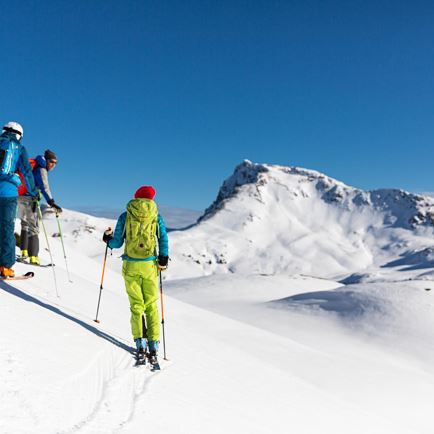 CANCELLED: guided skitour 'early morning breakfast'