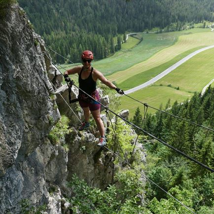 Via ferrata tour for beginners (Meetingpoint St. Ulrich)