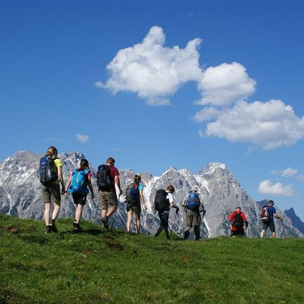 Stoabergmarsch - the 24-hours-hiking-tour between Tirol and Salzburg