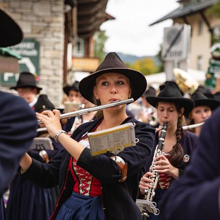 Miusic-Parade of the St. Johann in Tirol Brass Band