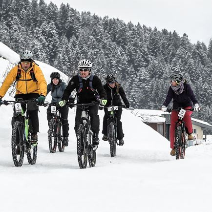 Winter E-Bike Tour durch das Sölllandl