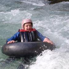 Abenteuer Tubing