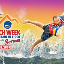 Beach Week St. Johann in Tirol presented by Servus