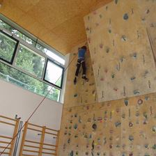 Indoor Family Climbing