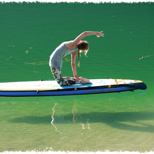 SUP'n Yoga am Pillersee