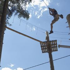 Teen programme High rope course