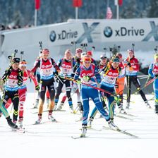 BMW IBU Worldcup Biathlon