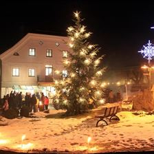 Christmas Trail in Itter