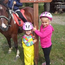 Kid´s pony rides in Westendorf