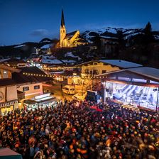 'Burning Ski Festival' in Kirchberg