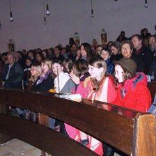 Christmette in der Pfarrkirche mit anschließendem Turmblasen
