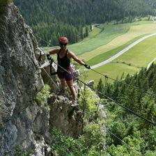 Klettersteigtour für Einsteiger (TREFFPUNKT: St. Ulrich)