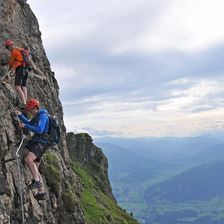 Via Ferrata on Kitzbüheler Horn