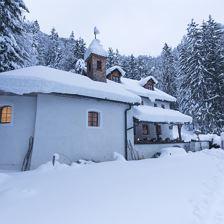 Stille Ruhe - innere Einkehr - Winterwanderung