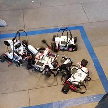 Trampolissimo: Baue und programmiere deinen Roboter
