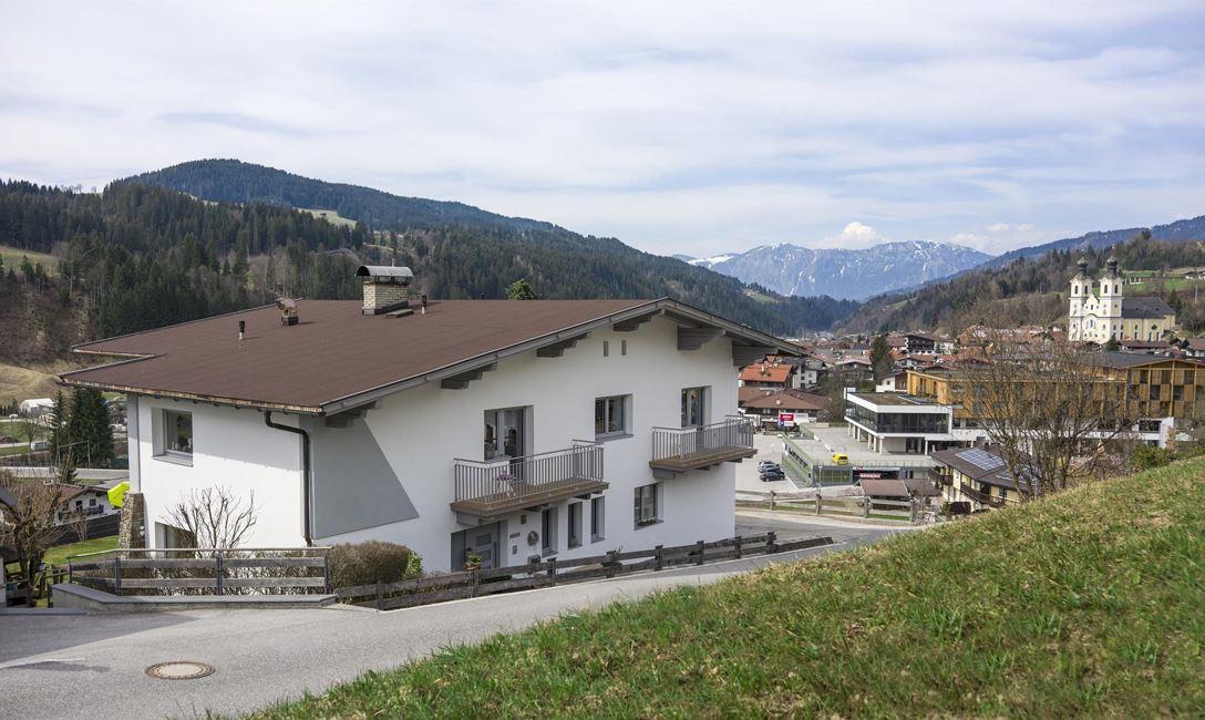 Anreise mit der Bahn in Brixental - in den Kitzbheler Alpen
