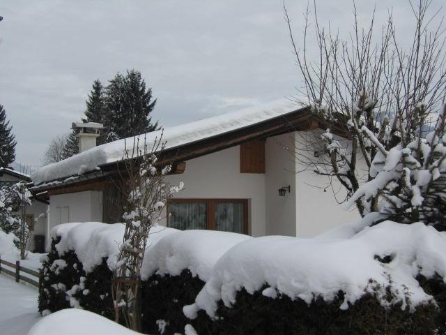 Hausansicht Winter