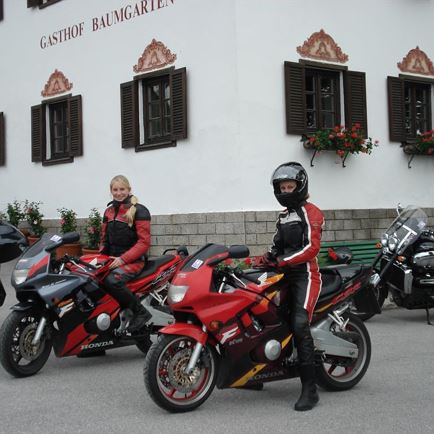 Motorcycling in Tyrol