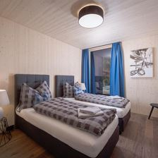 pure mountain BASE one . Schlafzimmer 2