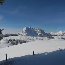 Wilder Kaiser im Winter