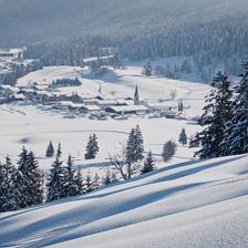Winter in Hochfilzen