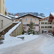 Haus Winter Panorama