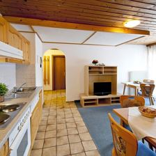 Appartement Brixental, Küche