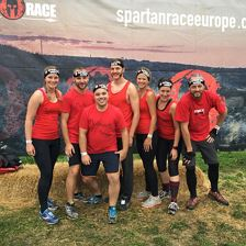 Happy vor Spartan_Race-Start 2017/Tirol