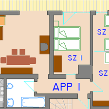 Huter St. Johann in Tirol, Apartment 1 Plan