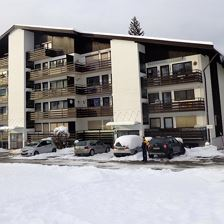 Appartement Haus im Winter