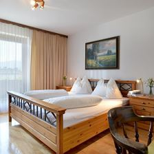 Hotel Theresia Garni - Schlafzimmer - Appartement