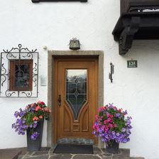 Landhaus Eingang landhaus central westendorf