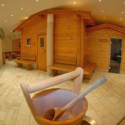Indoor swimming pool 'Aubad' - Sauna