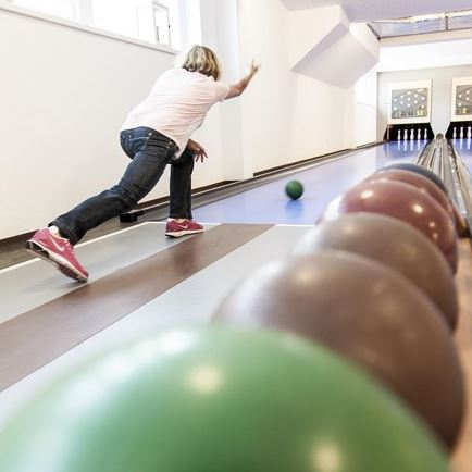 Bowling in der 'arena365'