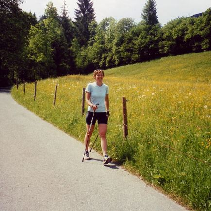 Nordic Walking-Guide Rieser Gabi