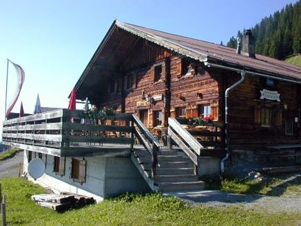 Fleidingalm, Mountainhut