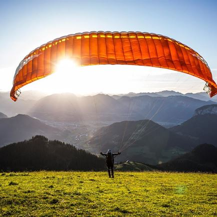 Flight school for paragliding Westendorf