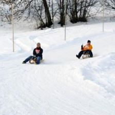 Tobogganing-run