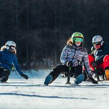Snooc Verleih der Skischule Kirchdorf