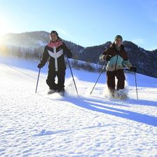 Snow shoe hiking - Tiroler Adler