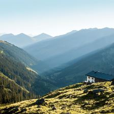 Rotwandalm, Mountainhut