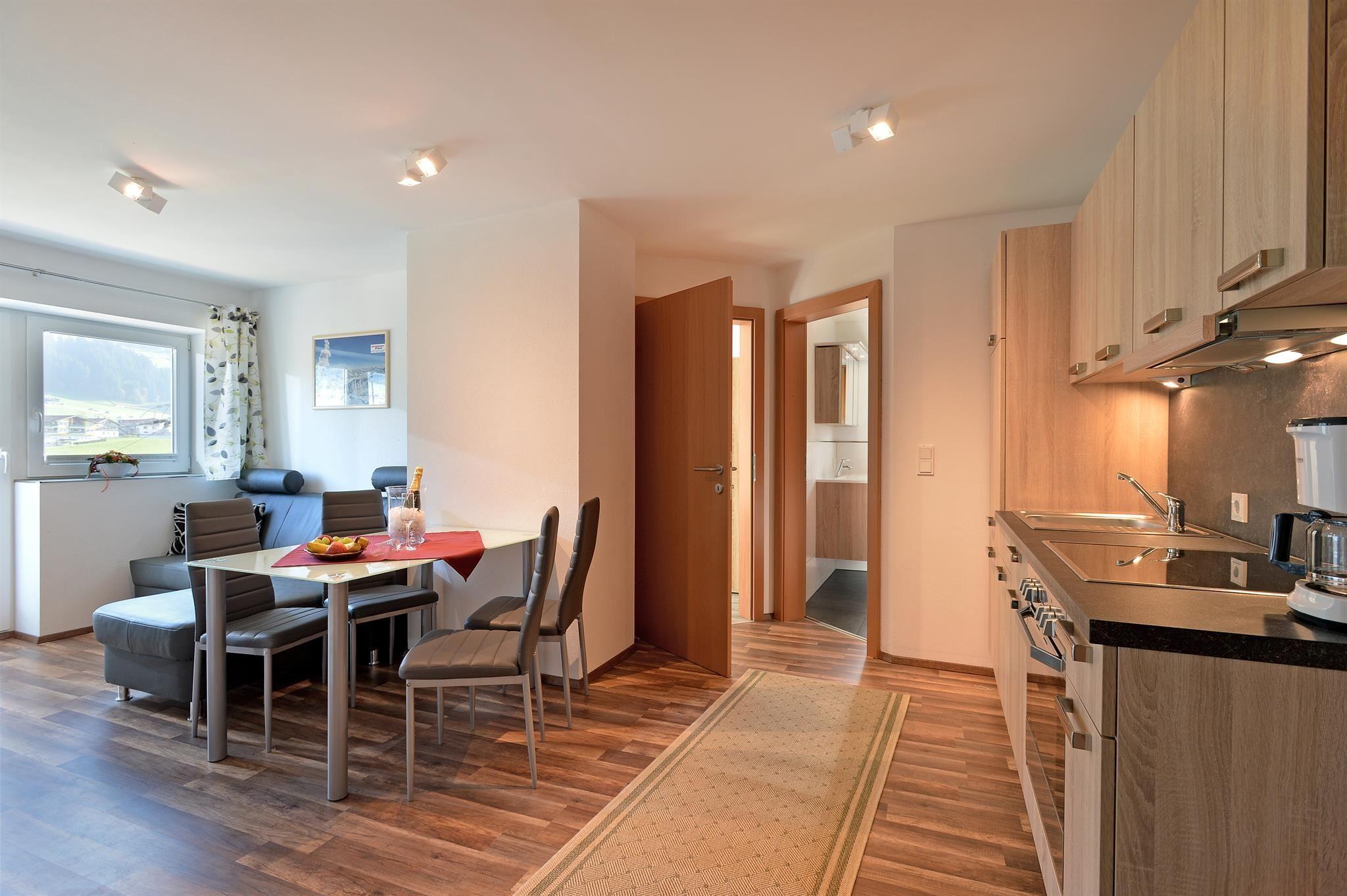 1 Slaapkamer Appartement : Appartement manzl westendorf