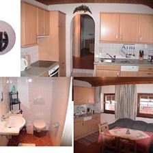 apartment/3 bedrooms/shower, WC