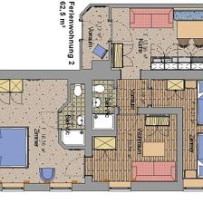 Apartment for four persons