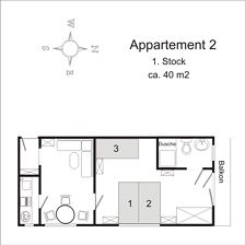 apartment/1 bedroom/shower, WC