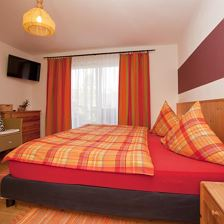 Erika: double room with shower, WC