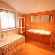 Apartment, shower and bath, toilet, 3 bed rooms